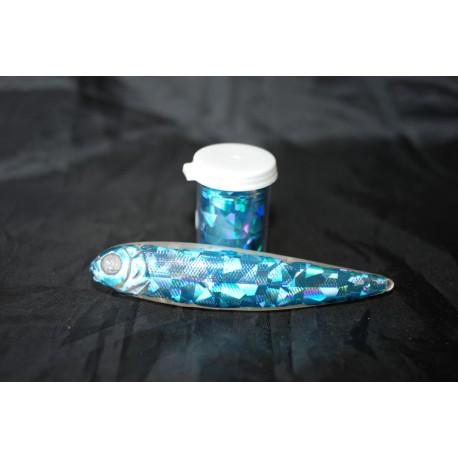 film holographic concept ice blue crush