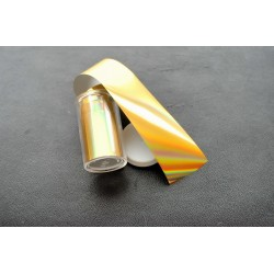 film holographic gold spectrum