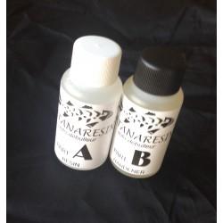 Katanaresin vernis bi-composant auto-débulleur kit 100 ml