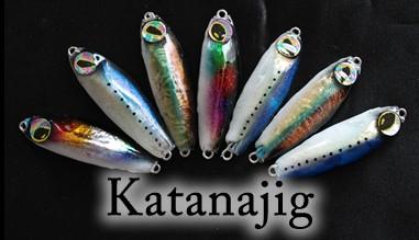 Katanajigs coloris sur mesure